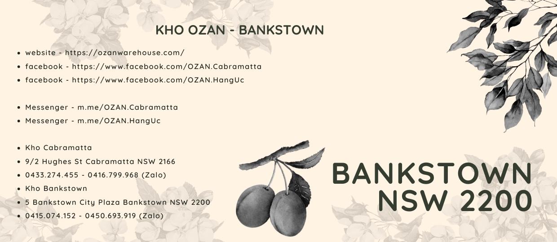 OZAN EXPRESS Bankstown store
