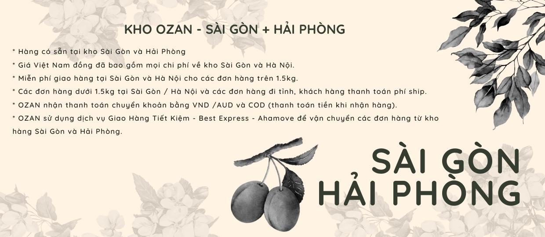 OZAN EXPRESS Saigon store